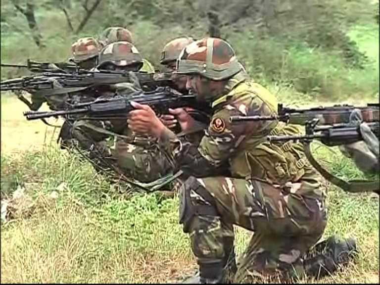 पुण्यातील औंधमध्ये बिम्सटेक देशांचा युद्ध सराव, सैनिकांच्या थरारक कसरती   bimstec military exercise at aundh station