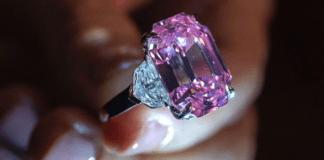 रेकॉर्ड ब्रेक किंमतीत विकला गेला हा गुलाबी हिरा | Pink diamond sold record break price
