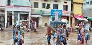 औरंगाबादमध्ये-ढगफुटीच्य-In Aurangabad-Cloudburst