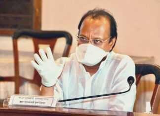 मुंडे प्रकरणात अजित पवार सं-In the Munde case, Ajit Pawar no
